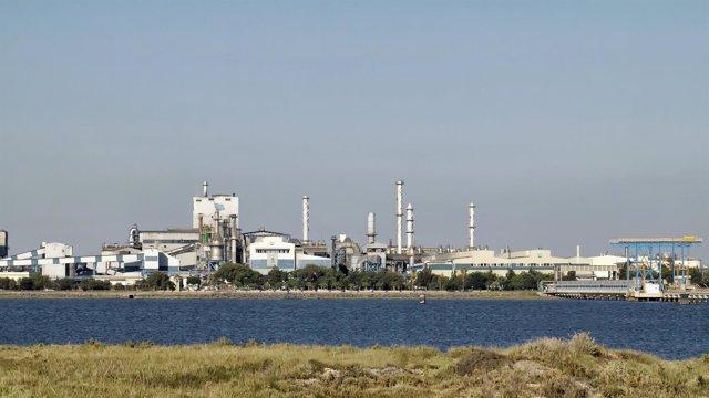 Imagen de la Fundición Atlantic Copper.