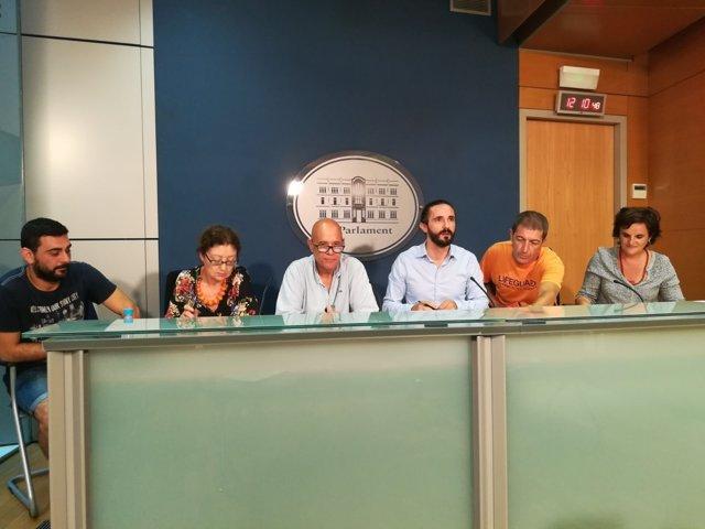 Parlament jornadas refugiados