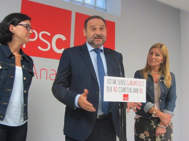 El secretario de Organización del PSOE, José Luis Ábalo