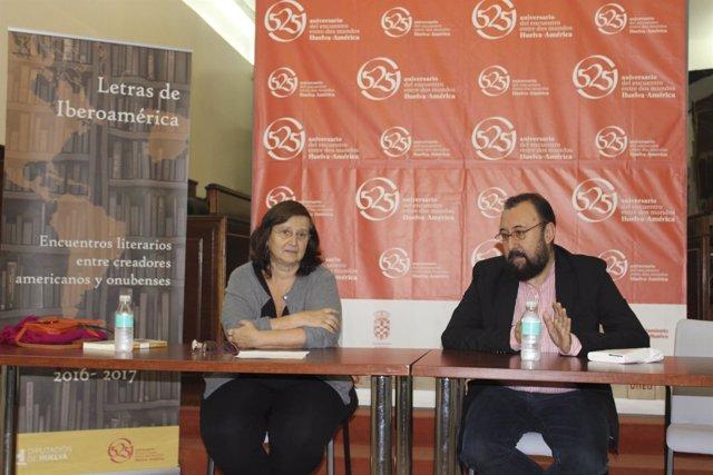 Clara Obligado e Hipólito G. Navarro, en Letras de Iberoamérica