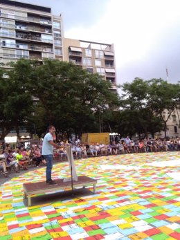 El presidente de Òmnium, Jordi Cuixart
