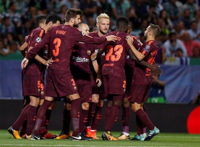 El Barça gana al Sporting de Lisboa