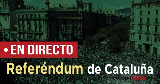 Directo referéndum de Cataluña 1 de octubre
