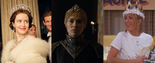 The Crown, Juego de Tronos y Friends