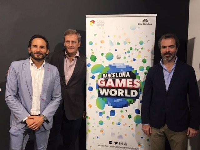 Josep Antoni Llopart (BGW), Alberto González (BGW) i José María Moreno (Aevi)