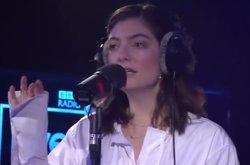 VÍDEO: Lorde versiona In the air tonight de Phil Collins (BBC RADIO 1)