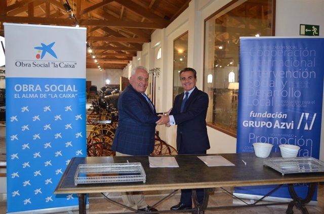 Fundación Grupo Azvi y Obra Social \'la Caixa\' acuerdan comenzar a ...