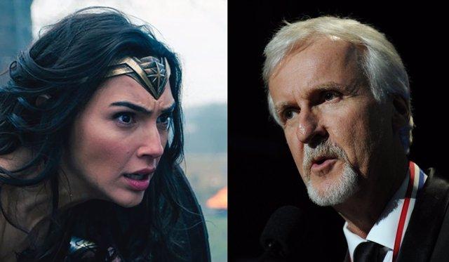 James Cameron se reafirma en sus críticas a Wonder Woman