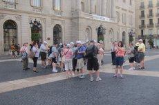 Catalunya lidera l'arribada de turistes fins a l'agost amb 13,7 milions, un 8% més (EUROPA PRESS)