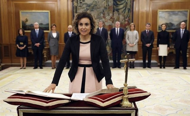 Dolors Montserrat, jura cargo Gobierno Rajoy