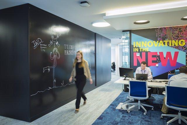 Noves oficines d'Accenture a La Rotonda de Barcelona