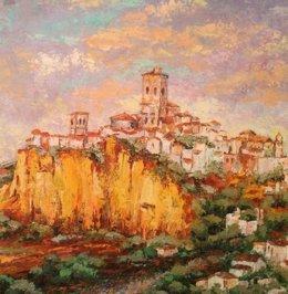 Valladolid. Cuadro del Salón de Otoño