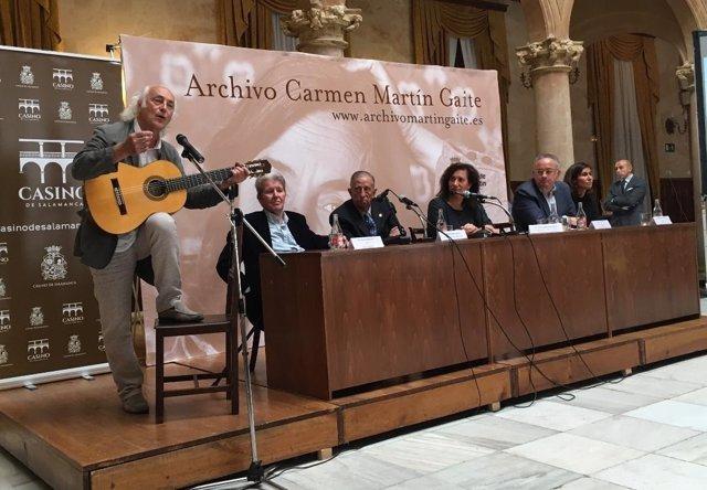 Salamanca. Presentación del archivo Carmen Martín Gaite