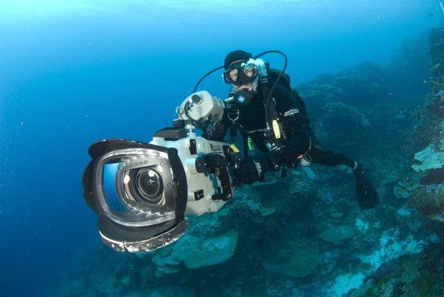 Enric Sala en 'Guerreros de los océanos'