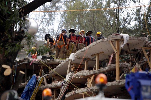 Daños causados por el terremoto en Ciudad de México