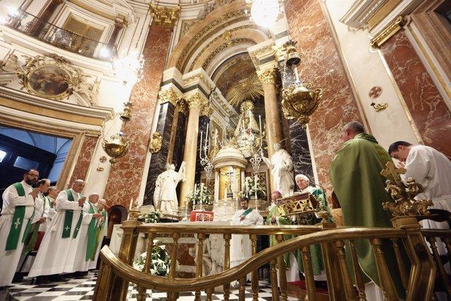 Misa celebrada este domingo