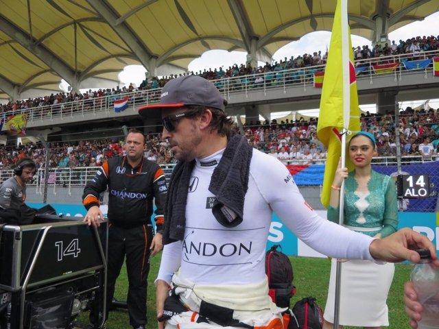 Fernando Alonso McLaren Malasia