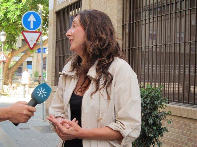 La secretaria general del PP-A, Dolores López.
