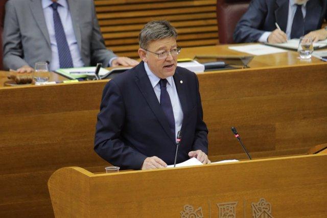 Puig, durante el Debate sobre Política General