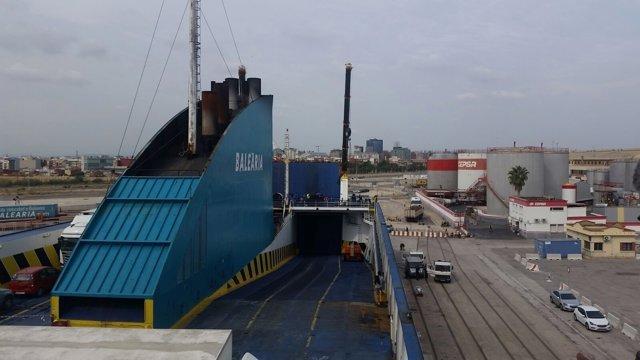 Ferry afectado