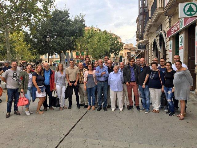 Comisión Ejecutiva del PSIB-PSOE de Llucmajor