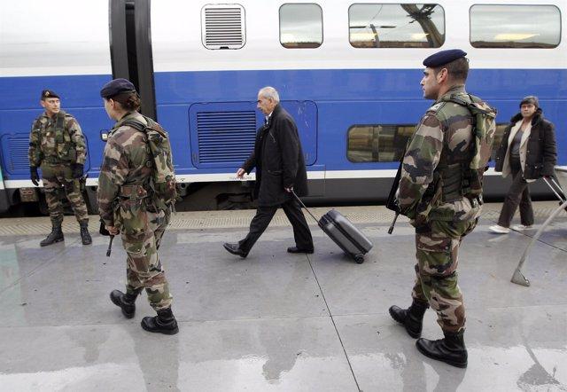 Estación de tren de Marsella