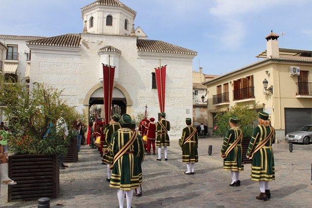 Acto conmemorativo en Santa Fe (Granada)