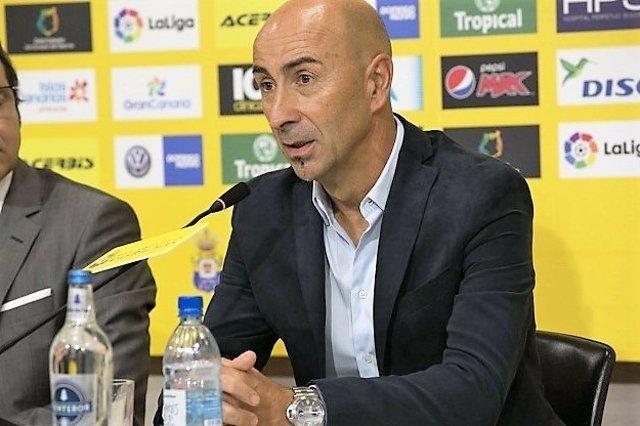 Pako Ayestarán, entrenador de Las Palmas