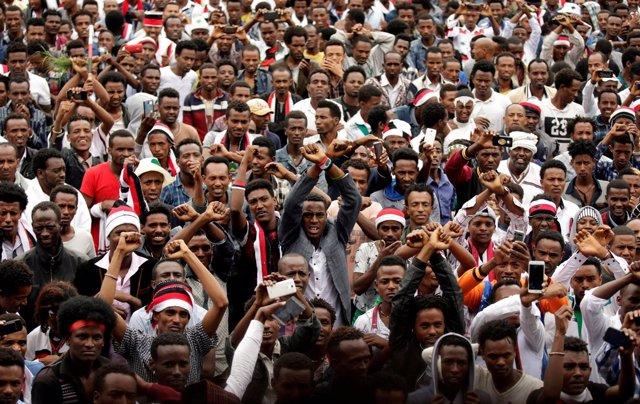 Fiesta de Irreecha en Etiopía