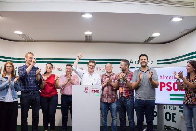José Luis Sánchez Teruel gana las primarias del PSOE de Almería