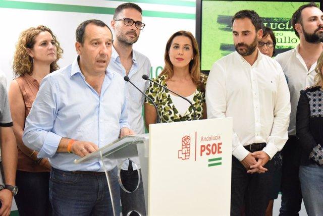 Ruiz Espejo, secretario general electo del PSOE de Málaga
