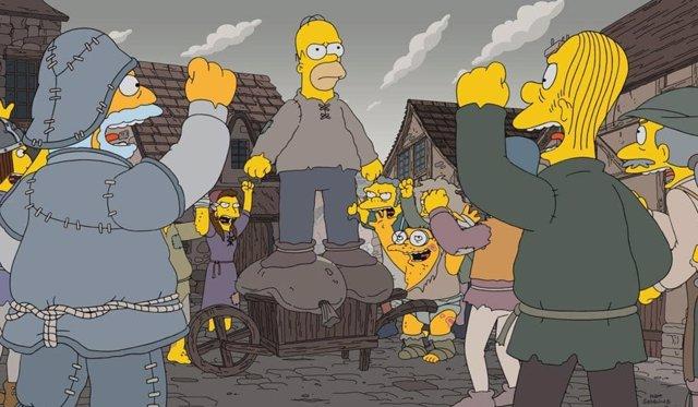 Primer capítulo de la 29ª temporada de 'Los Simpson'