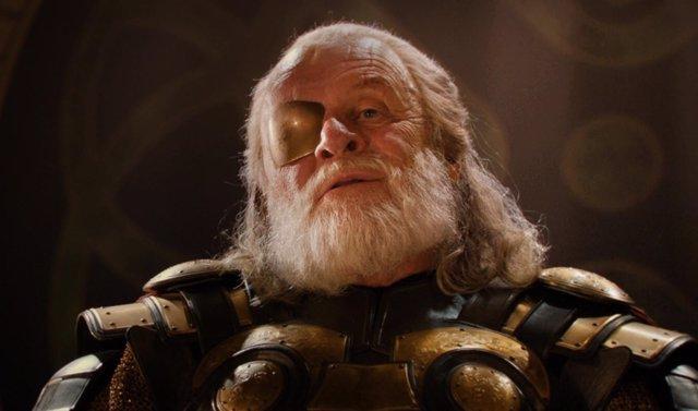 Anthony Hopkins es Odín en Thor: Ragnarok