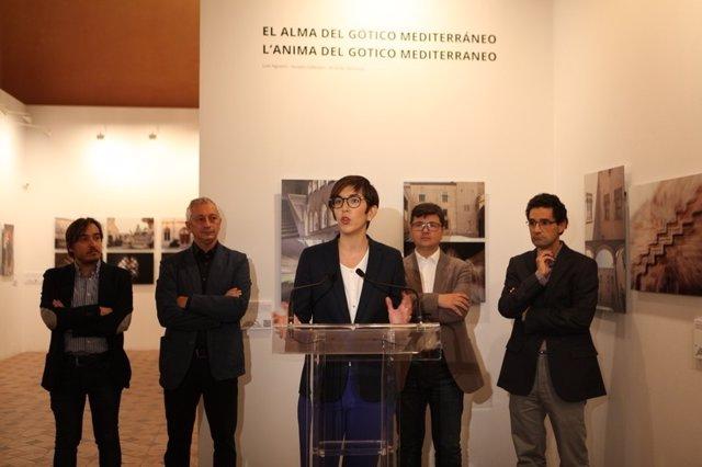 Inauguración de la exposición 'El alma del Gótico Mediterráneo'