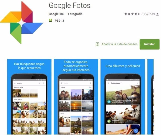 Google Fotos, Google Photos