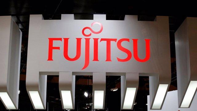 A logo of Fujitsu is Fujitsu