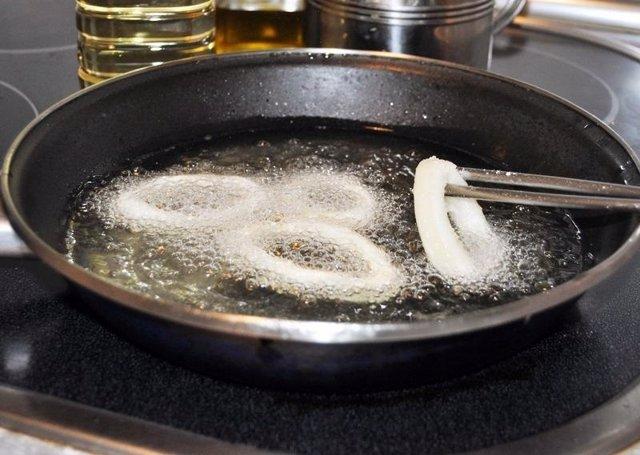 Fritura de calamares