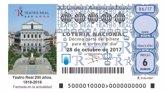 Foto: Loterías celebra los aniversarios del Teatro Real con la emisión de cuatro décimos conmemorativos en octubre