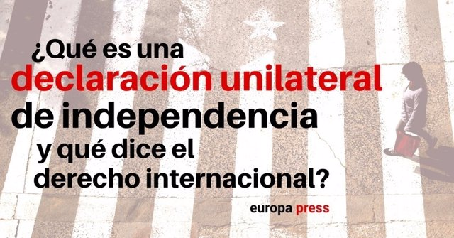 ¿Qué Es Una Declaracion Unilateral De Independencia?