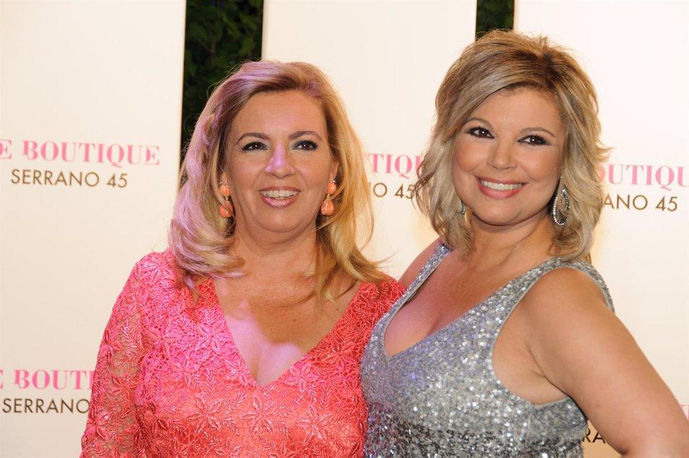 Terelu y Carmen Borrego