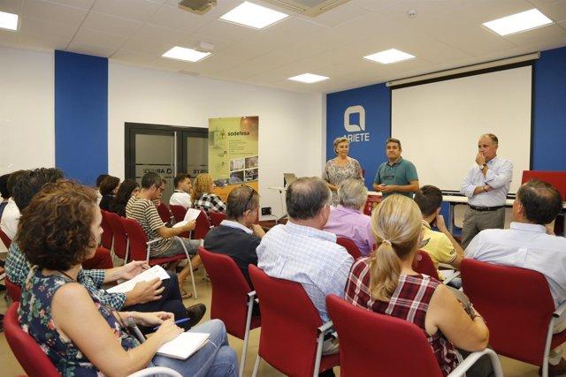 Presentación de Plan para el Fomento del Comercio en Mairena del Aljarafe