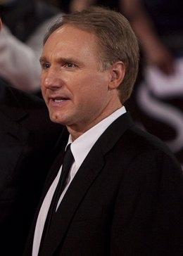 El escritor  Dan Brown