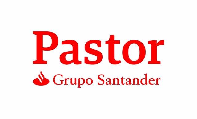 Logotipo Pastor + Grupo Santander