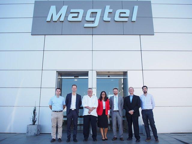 Encuentro entre Magtel y Charlotte Regional Partnership