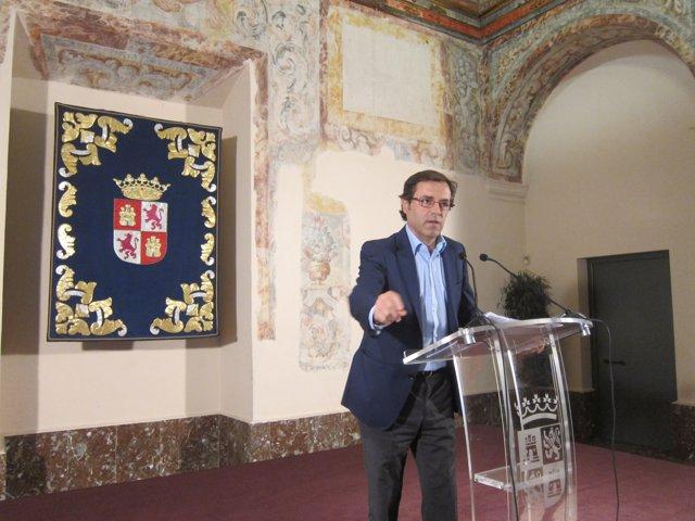Valladolid.  El director general de Turismo, Javier Ramírez.