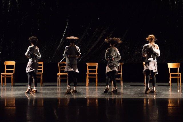 Espectáculo 'Rosas danst Rosas'