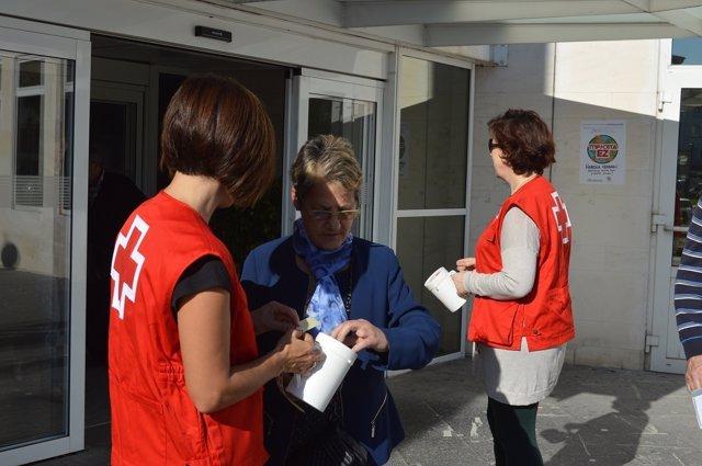 Día De La Banderita A Favor De La Infancia Cruz Roja Navarra