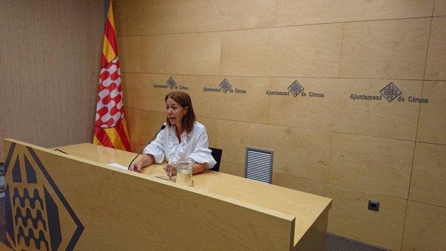 Marta Madrenas, alcaldesa de Girona