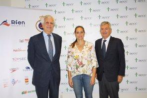 Prevenir el cáncer desde edades tempranas, el objetivo de la AECC y la Federación de Natación ( ESTHER DIEZ MUÑIZ )