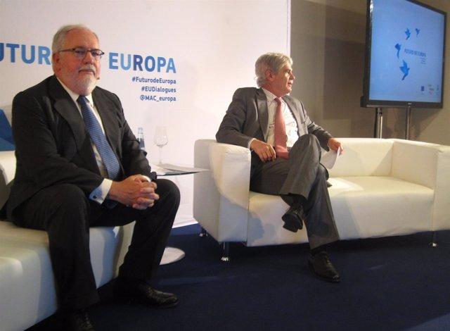 Arias Cañete y Alfonso Dastis